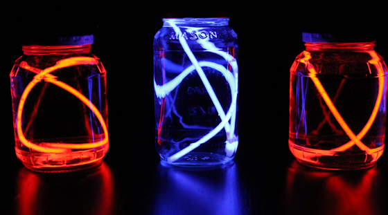 For the Kids: Glow Stick Jars