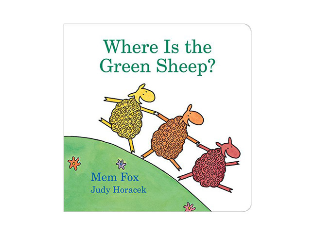 Where is the Green Sheep? by Mem Fox and Judy Horacek