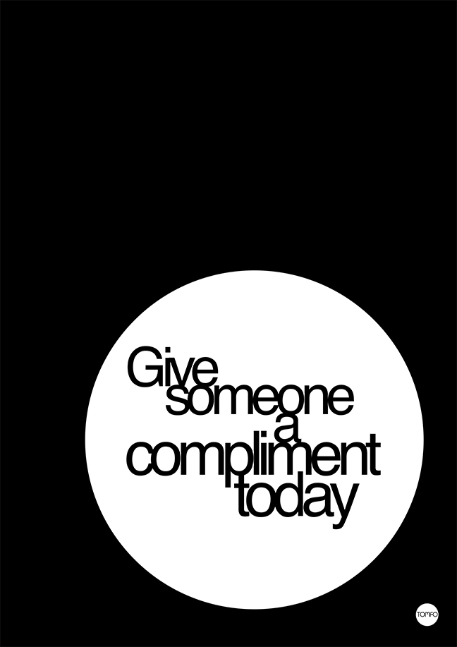 Give Someone A Compliment
