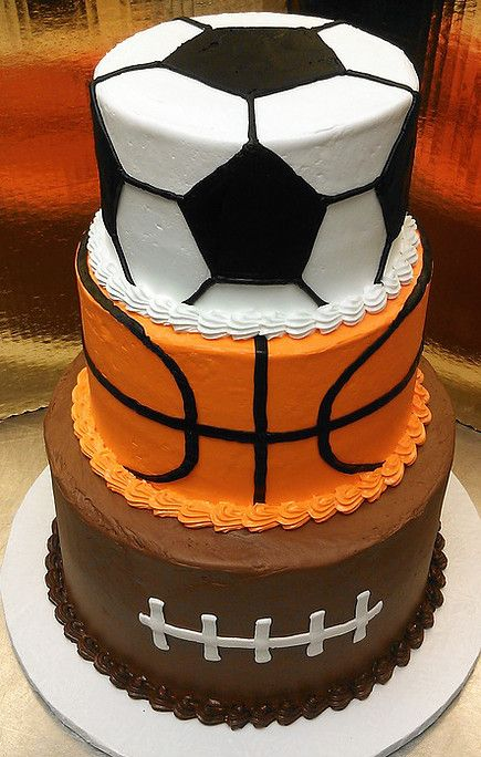 Tremendous 11 Sports Themed Birthday Cake Ideas For Your Kids Birthday Party Funny Birthday Cards Online Elaedamsfinfo