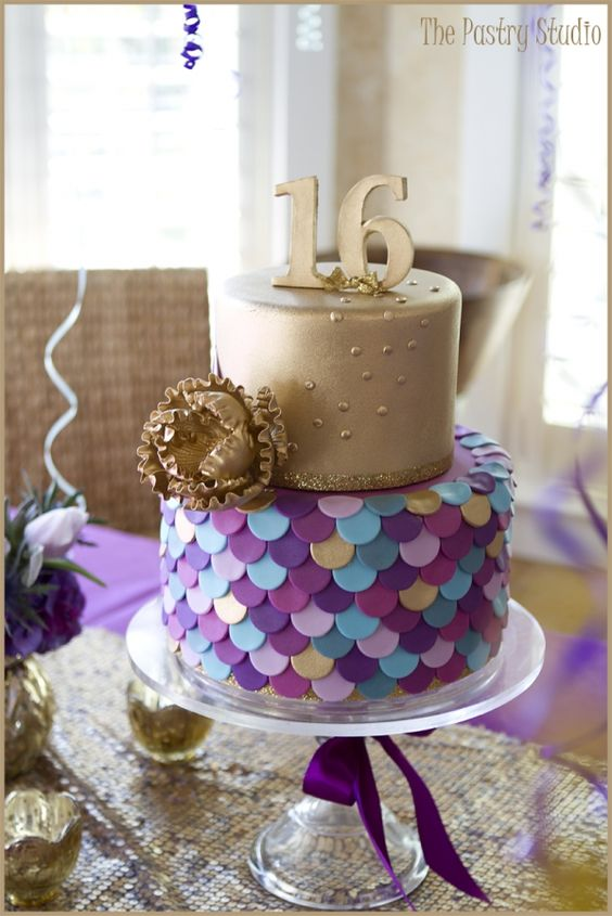 Pleasant 11 Super Sweet 16 Cake Ideas Your Teen Will Love Personalised Birthday Cards Veneteletsinfo