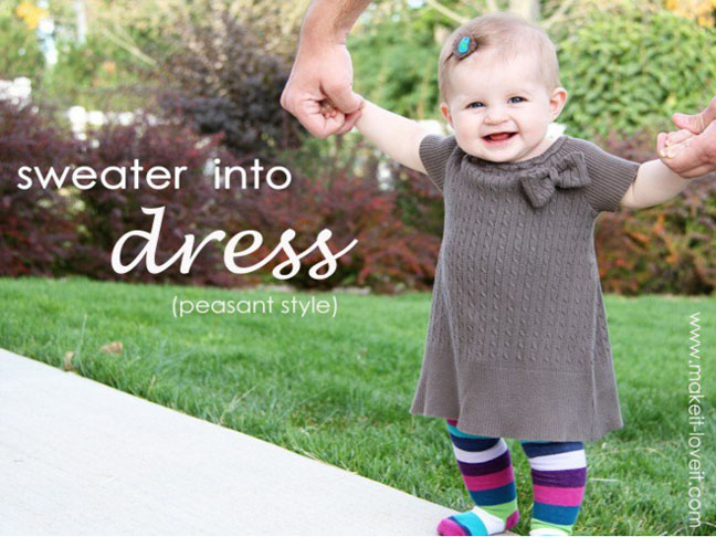 Child's Short Sleeve Dress