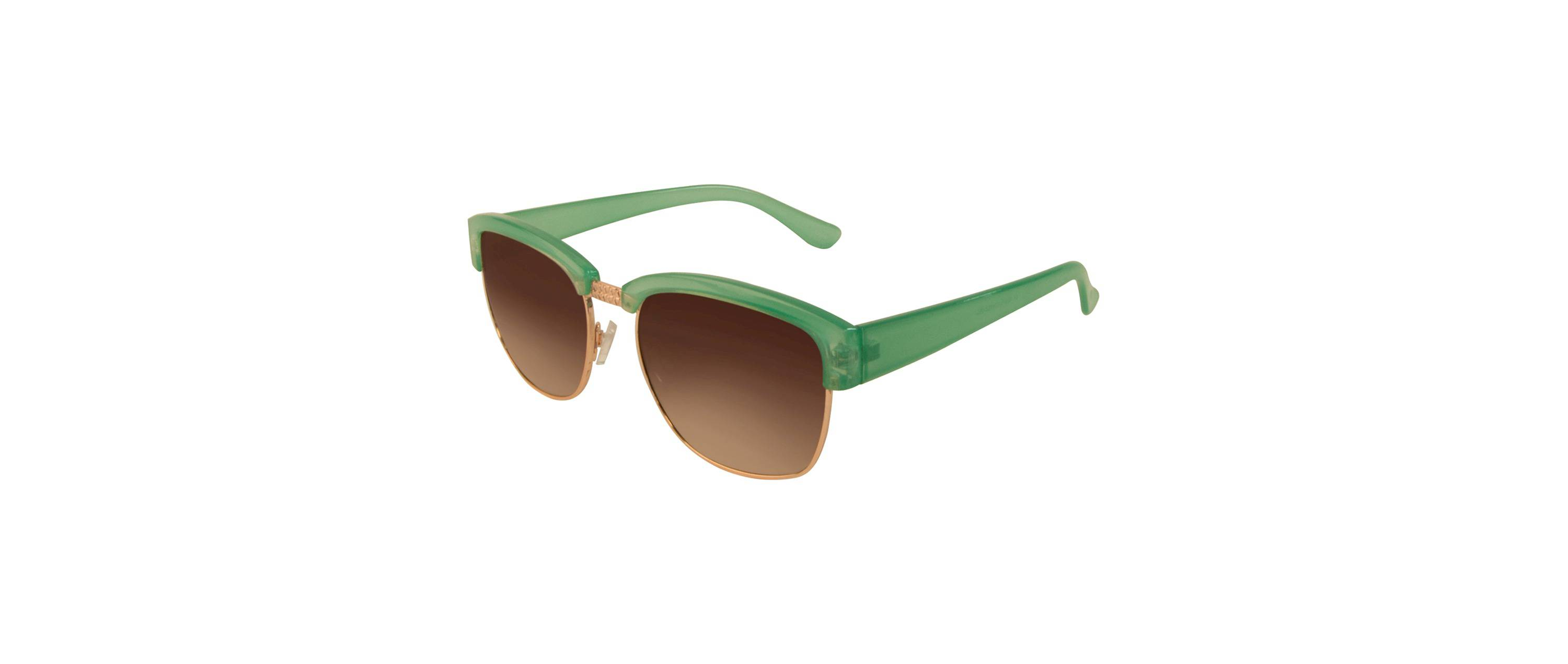 Retro Green and Gold Sunglasses