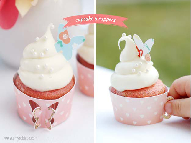 Tea cup cupcake wrappers