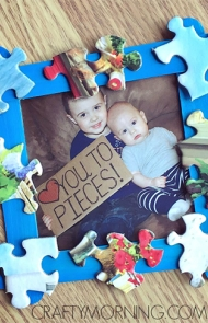 Love You To Pieces Frame