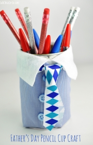 Father's Day Pencil Holder Craft