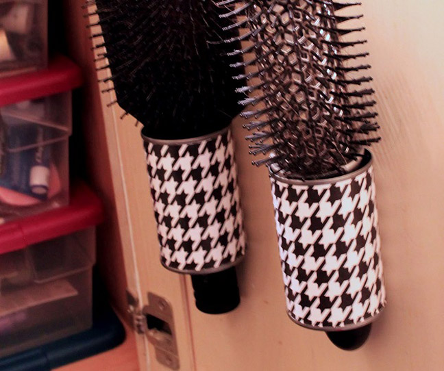 Uncanny Hairbrush Holder