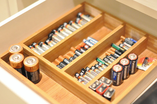 Battery Drawer Divider