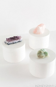 Crystal Knob Boxes