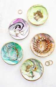 Marbled Ring Dishes