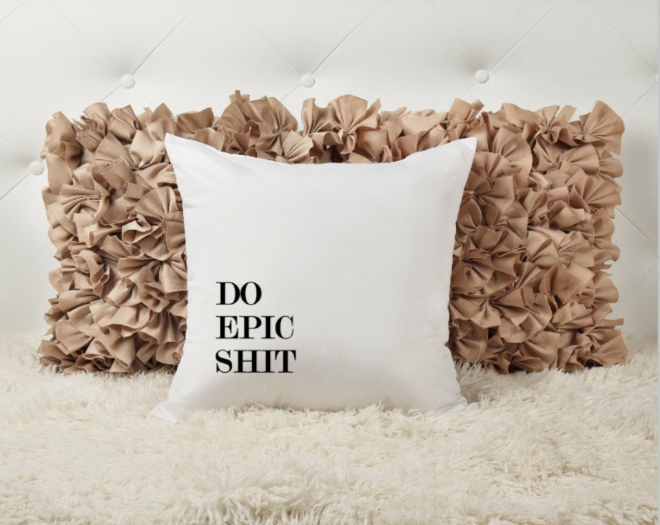 Epic Shit Throw Pillow