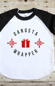 Gangsta Wrapper Tee