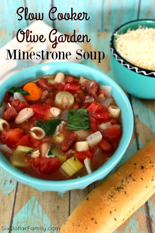 15 noodle soups for fall for Minestrone soup olive garden recipe