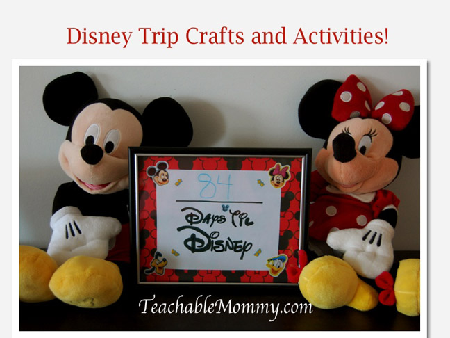 19 Summer Disney Crafts & Activities for Kids