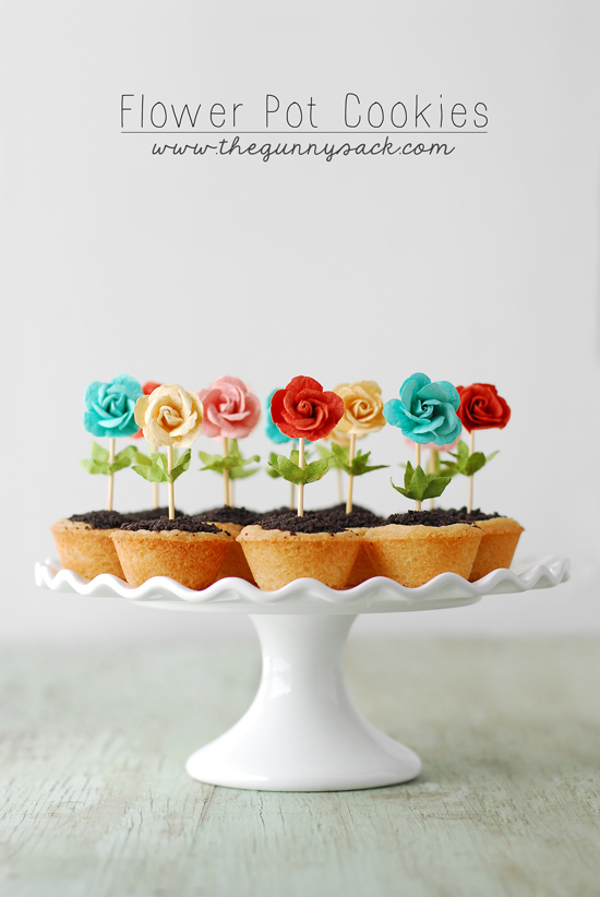 How To Make A D Flower Pot Cake