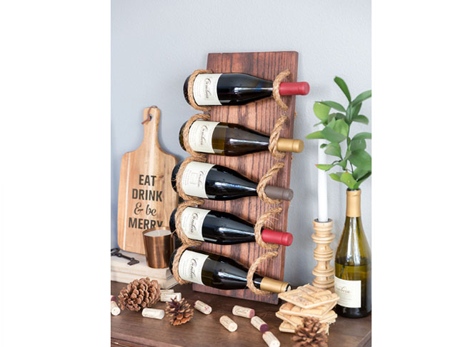 51 awesome diy wine racks you can make right now rh mumtastic com au diy wine shelf ideas diy wine box shelves