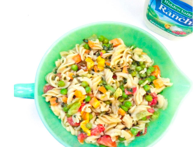 Ranch Summer Pasta Salad