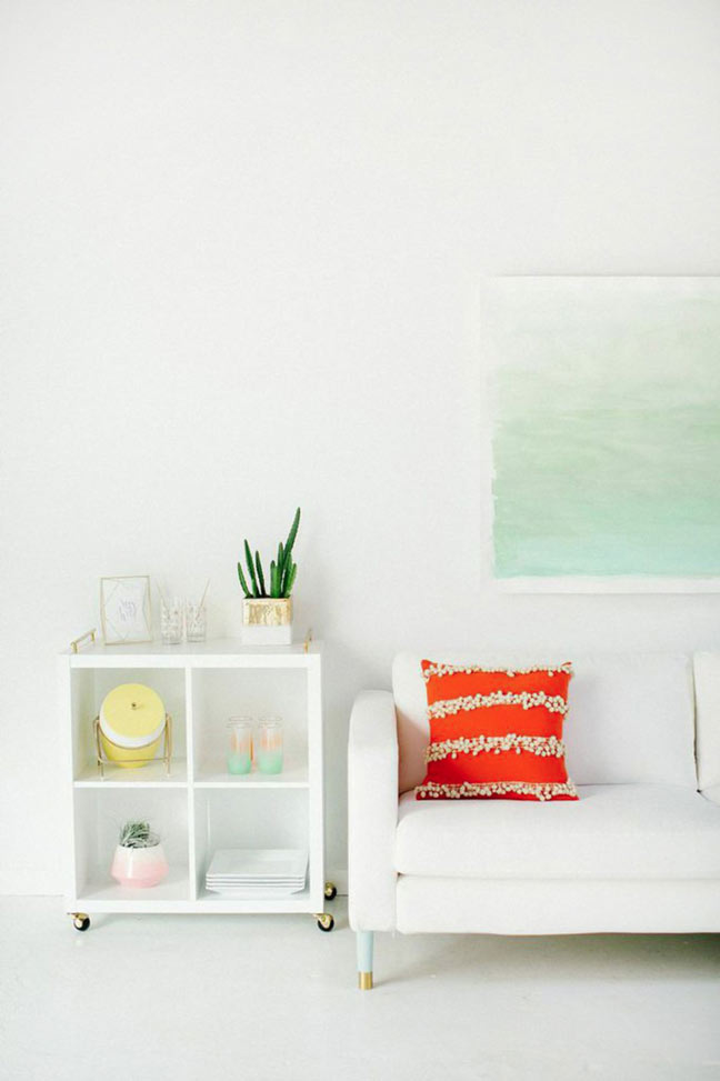 Large Scale DIY Watercolor Wall Art