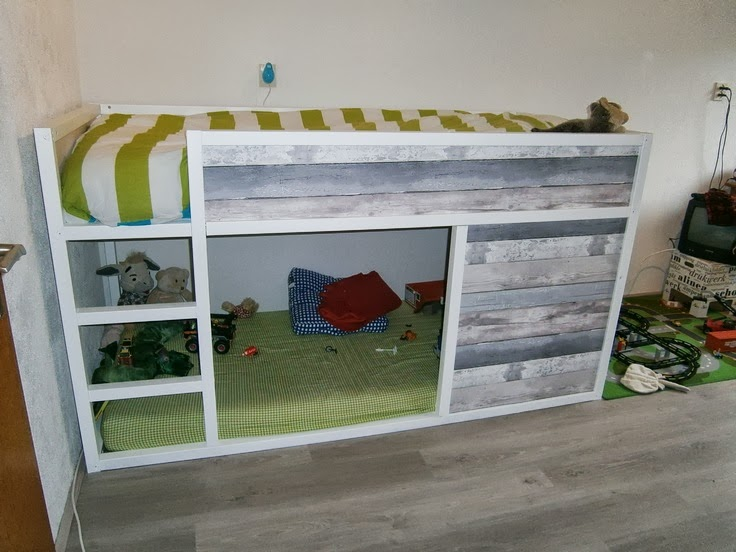 Distressed Woodland Bunk
