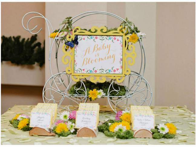 Baby Is Blooming Baby Shower