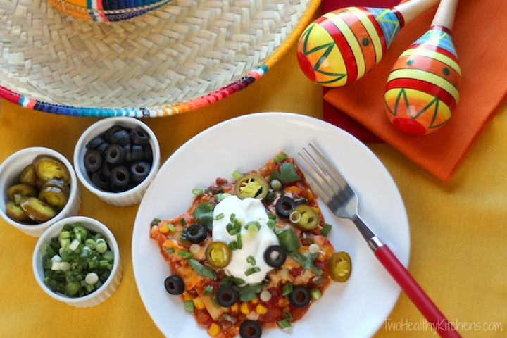 Baked Mexican Ravioli Casserole