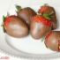 Snickers Stuffed Strawberries
