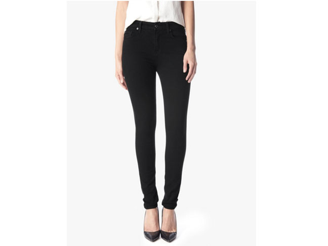 7 For All Mankind Slim Illusion Luxe High Waist Skinny