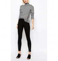 Cheap Monday High Spray High Waist Superskinny Jeans with Zip Front