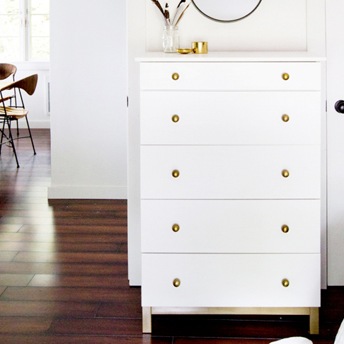 Simple and Sophisticated Dresser Upgrade from Stories