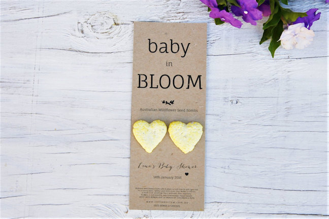 Flower Seed Bomb Favors