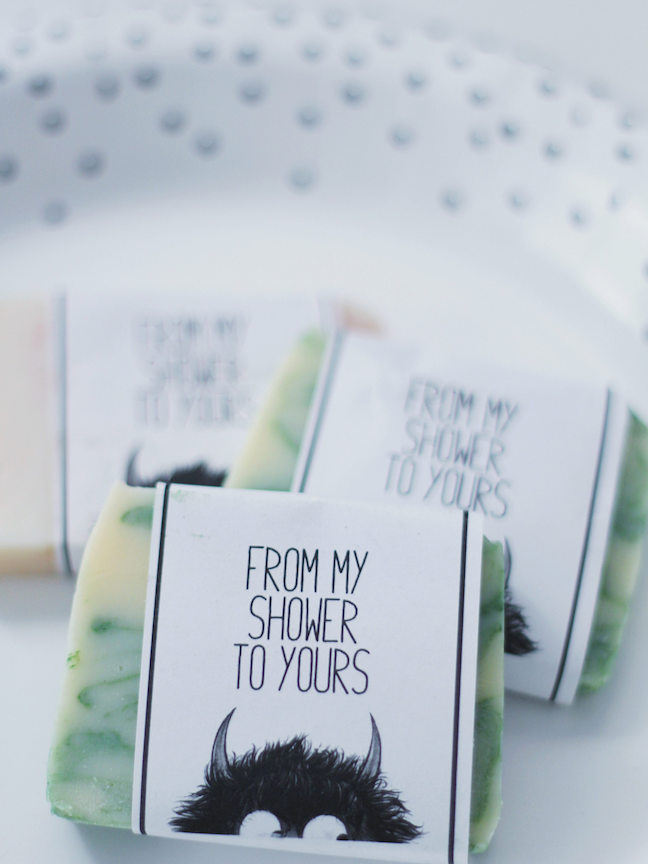 Wild Things Soap Favors