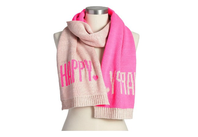 Old Navy Message Scarf