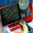 Paint a Lunchbox with Blackboard Paint