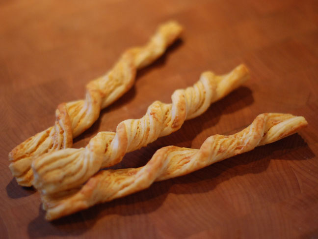 Easy Parmesan Cheese Straws