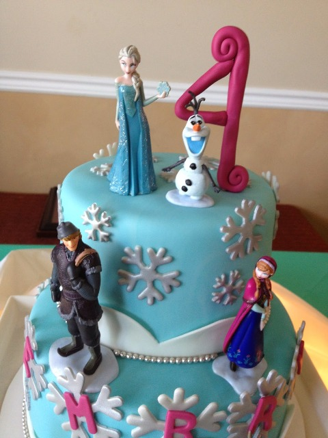 Disney S Frozen Birthday Cake Cupcake Ideas