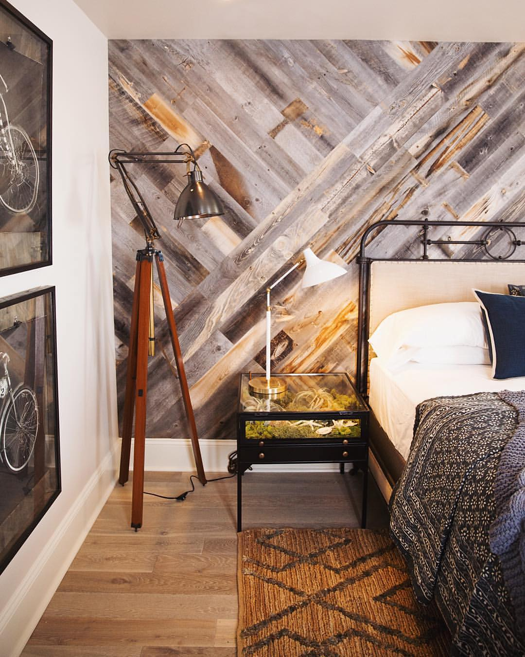 Wood Paneled Room Design: DIY Easy Peel And Stick Wood Wall Decor