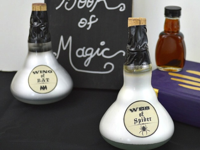 DIY Magic Potion Light Bulbs