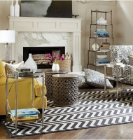 Chevron Indoor / Outdoor Rug