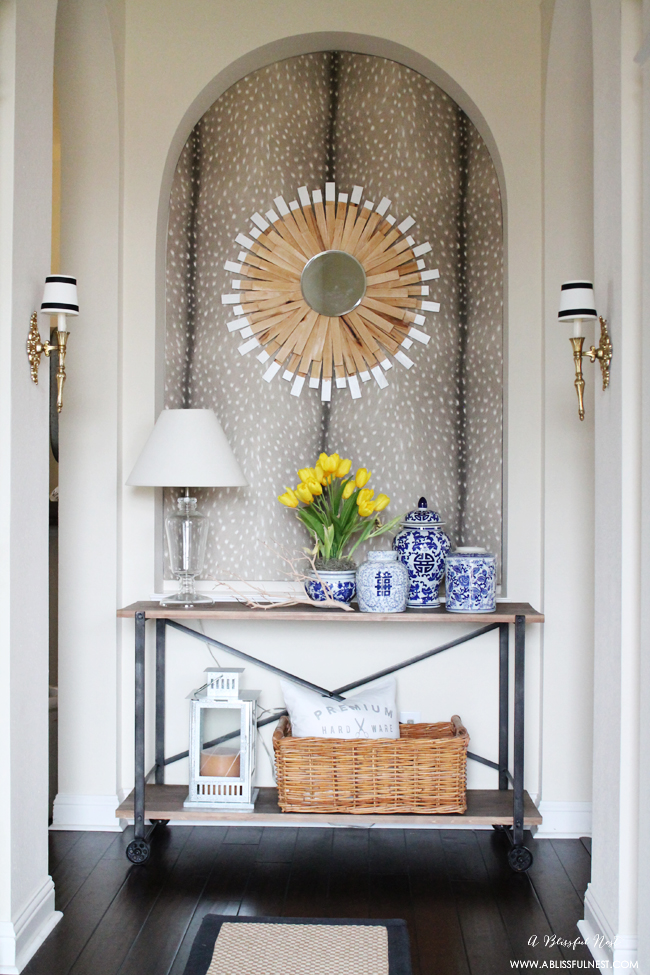 Wallpaper Entryway
