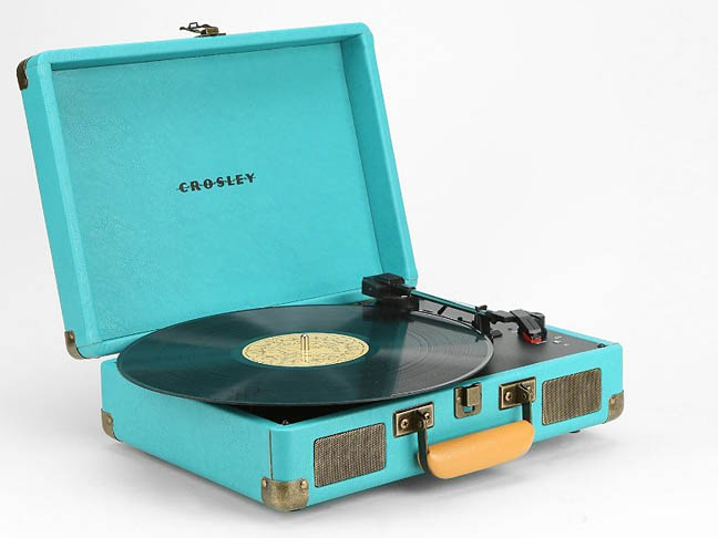 Crosley Briefcase Portable Record Player from Urban Outfitters