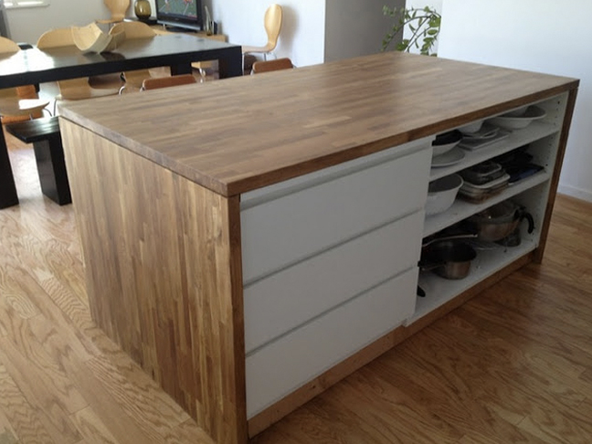 Malm Dresser Kitchen Island
