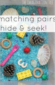 Matching Pairs Hide-and-Seek Game