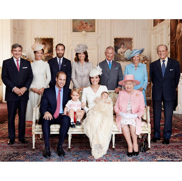 The Royal Family (Official Portrait)