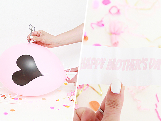 Mother's Day Confetti Surprise Balloons