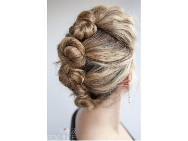 French Roll Twist & Pin