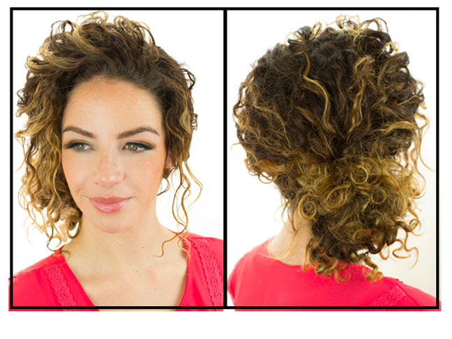 Quick Curly Hair Styles The Most Popular Quick & Easy Curly Hairstyles On Pinterest
