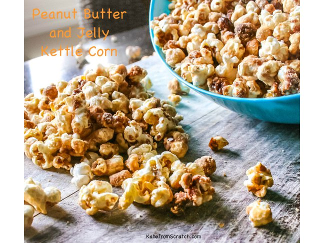 Peanut Butter and Jelly Kettle Corn