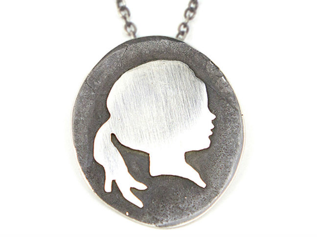 Sterling Silver Silhouette Necklace Pendants
