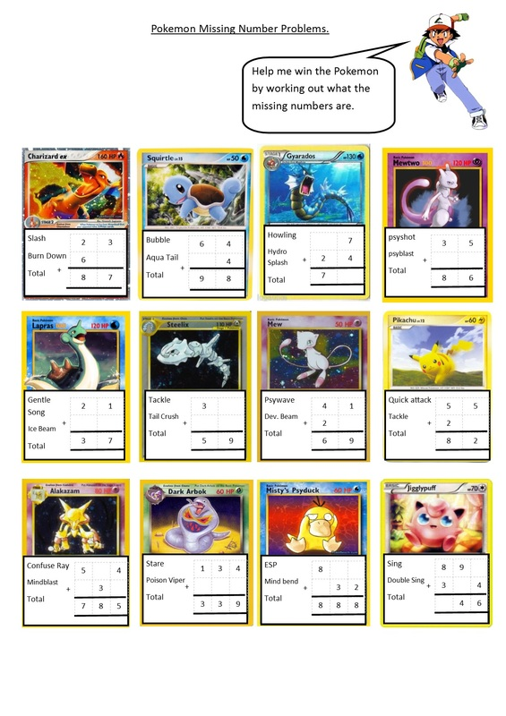 Pokemon Math Games Images Pokemon Images