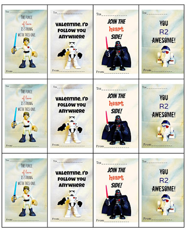 Classic classroom valentines get a Star Wars makeover and the results ...